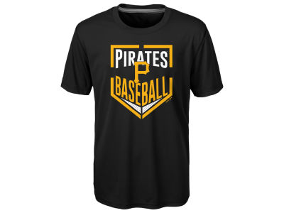 Pittsburgh Pirates MLB Youth Run Scored Poly T-Shirt