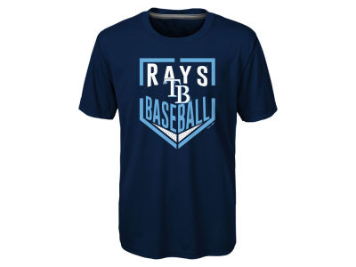 Tampa Bay Rays MLB Youth Run Scored Poly T-Shirt
