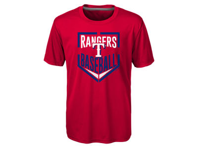 Texas Rangers MLB Kids Run Scored T-Shirt