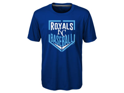 Kansas City Royals MLB Kids Run Scored T-Shirt