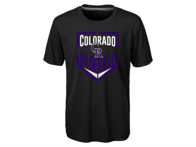 Colorado Rockies MLB Kids Run Scored T-Shirt