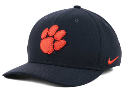 Clemson Tigers Nike NCAA Anthracite Classic Swoosh Cap