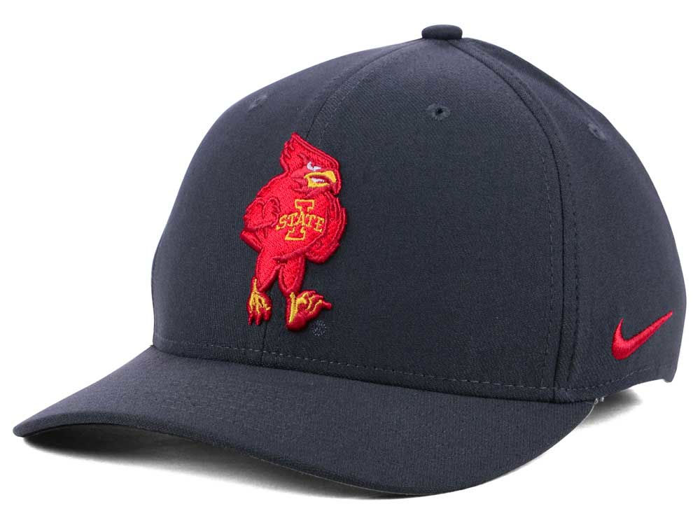 ae15d9d1a00 ... netherlands iowa state cyclones nike ncaa anthracite classic swoosh cap  5eabc 03c4d