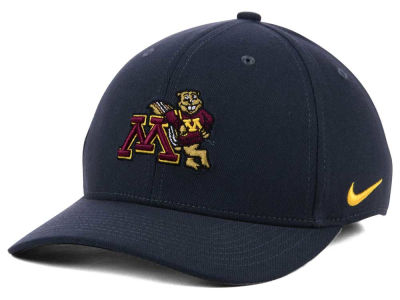 Minnesota Golden Gophers Nike NCAA Anthracite Classic Swoosh Cap