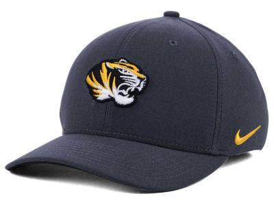 Missouri Tigers Nike NCAA Anthracite Classic Swoosh Cap 38f66900abb5