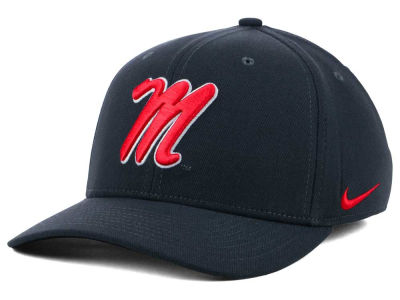 Ole Miss Rebels Nike NCAA Anthracite Classic Swoosh Cap