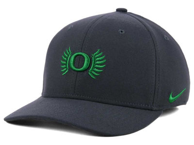 Oregon Ducks Nike NCAA Anthracite Classic Swoosh Cap