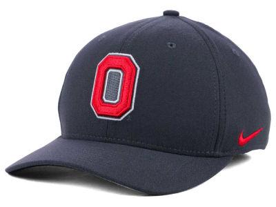 Ohio State Buckeyes Nike NCAA Anthracite Classic Swoosh Cap 023cafbd3bd