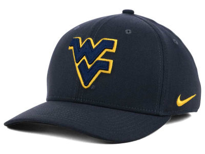 West Virginia Mountaineers Nike NCAA Anthracite Classic Swoosh Cap