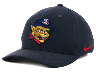 Arizona Wildcats Nike NCAA Anthracite Classic Swoosh Cap