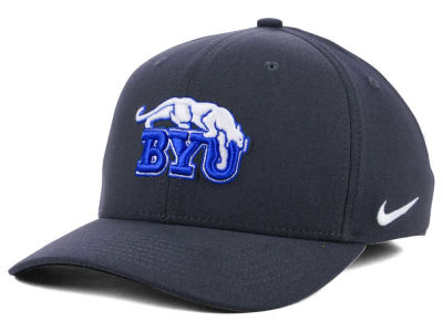 Brigham Young Cougars Nike NCAA Anthracite Classic Swoosh Cap