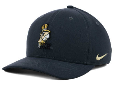 Wake Forest Demon Deacons Nike NCAA Anthracite Classic Swoosh Cap