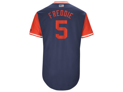 Atlanta Braves Freddie Freeman Majestic MLB Men's Players Weekend Authentic Jersey