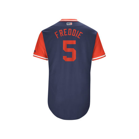 Atlanta Braves Freddie Freeman MLB Men's Players Weekend Authentic Jersey