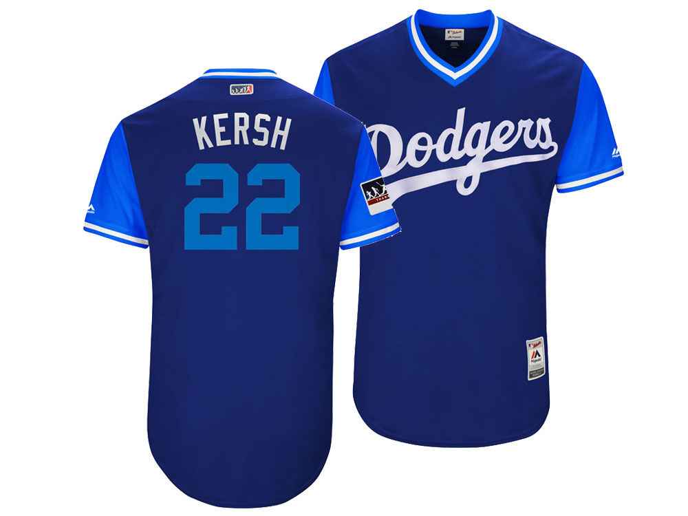 Los Angeles Dodgers Clayton Kershaw Majestic MLB Men s Players Weekend  Authentic Jersey  fd325f8dc15