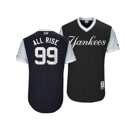 New York Yankees Aaron Judge MLB Men's Players Weekend Authentic Jersey
