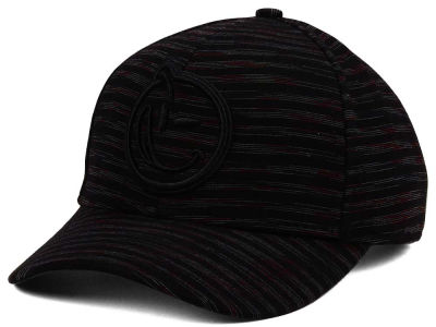 YUMS Jersey Stripes Curved Snapback Cap
