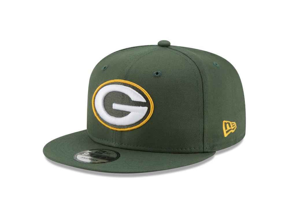 c27067f9379 Green Bay Packers New Era NFL Team Color Basic 9FIFTY Snapback Cap ...