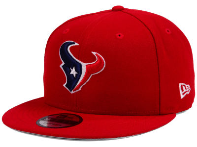 Houston Texans New Era NFL Team Color Basic 9FIFTY Snapback Cap