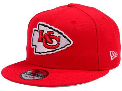 newest aa4c4 3ca1f Kansas City Chiefs New Era NFL Team Color Basic 9FIFTY Snapback Cap