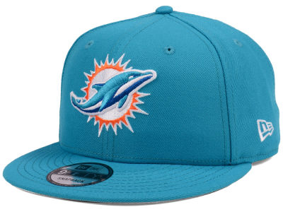 Miami Dolphins New Era NFL Team Color Basic 9FIFTY Snapback Cap