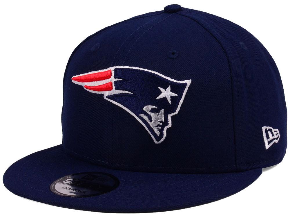 a04cd0c10e4 New England Patriots New Era NFL Team Color Basic 9FIFTY Snapback Cap
