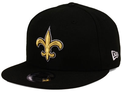New Orleans Saints New Era NFL Team Color Basic 9FIFTY Snapback Cap