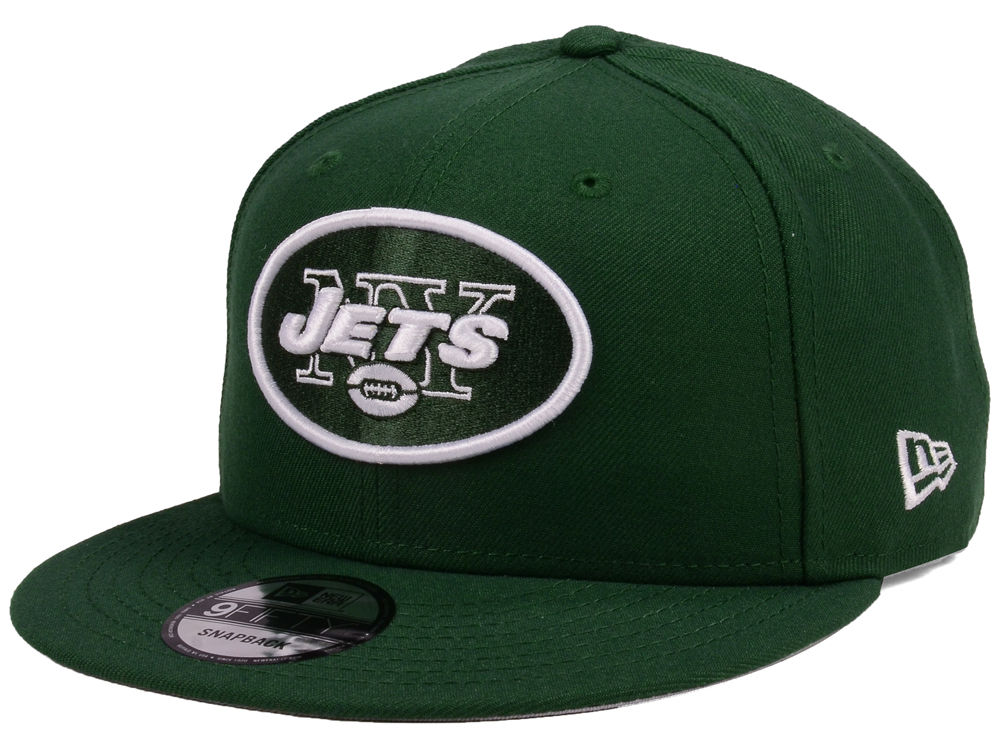 New York Jets New Era NFL Team Color Basic 9FIFTY Snapback Cap ... 342b3f667990