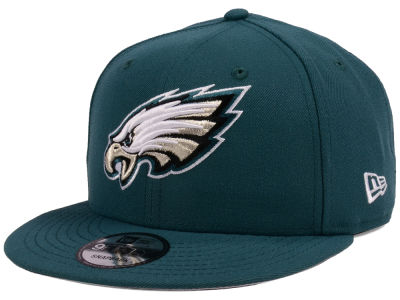 Philadelphia Eagles New Era NFL Team Color Basic 9FIFTY Snapback Cap