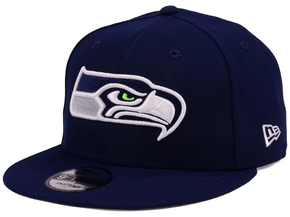 40b88ce9 ... cheapest seattle seahawks new era nfl team color basic 9fifty snapback  cap 217ca fc995