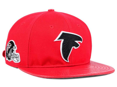 Atlanta Falcons Pro Standard NFL Team Color Black Strapback Cap