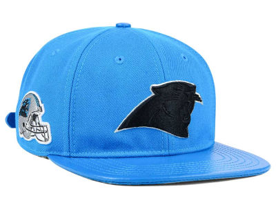 Carolina Panthers Pro Standard NFL Team Color Black Strapback Cap