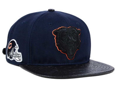 Chicago Bears Pro Standard NFL Team Color Black Strapback Cap