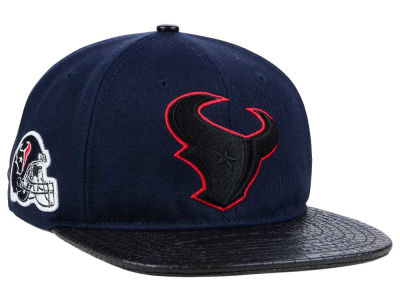 Houston Texans Pro Standard NFL Team Color Black Strapback Cap