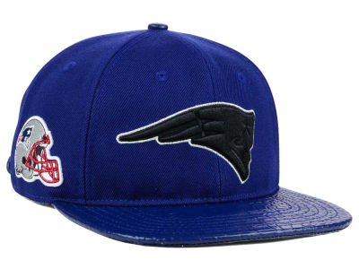 New England Patriots Pro Standard NFL Team Color Black Strapback Cap