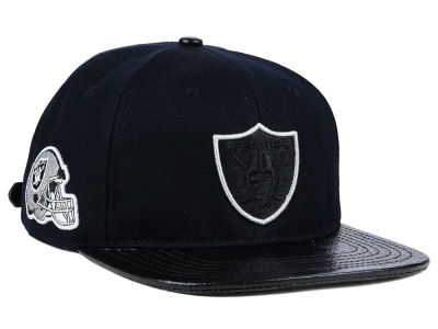 Oakland Raiders Pro Standard NFL Team Color Black Strapback Cap