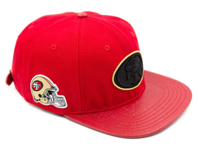San Francisco 49ers Pro Standard NFL Team Color Black Strapback Cap