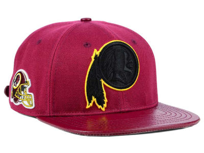 Washington Redskins Pro Standard NFL Team Color Black Strapback Cap