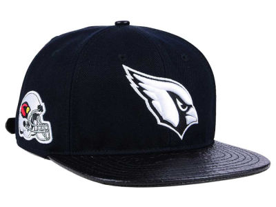 Arizona Cardinals Pro Standard NFL Black and White Strapback Cap