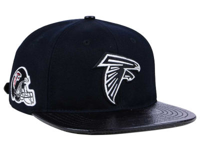 Atlanta Falcons Pro Standard NFL Black and White Strapback Cap