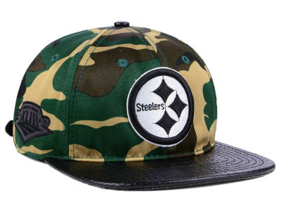Pittsburgh Steelers Pro Standard NFL Woodland Strapback Cap