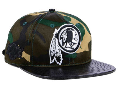 Washington Redskins Pro Standard NFL Woodland Strapback Cap