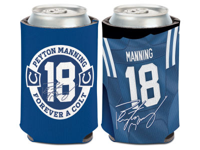 Indianapolis Colts Peyton Manning NFL Retro Player Can Coozie