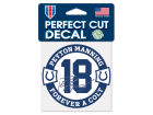 Indianapolis Colts Peyton Manning Wincraft NFL Retirement Decal Knick Knacks