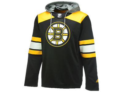 Boston Bruins adidas NHL Men's Platinum Jersey Hoodie