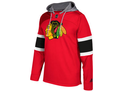 Chicago Blackhawks adidas NHL Men's Platinum Jersey Hoodie