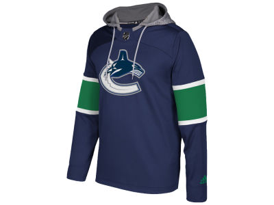 Vancouver Canucks adidas NHL Men's Platinum Jersey Hoodie