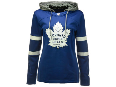 Toronto Maple Leafs adidas NHL Women's Jersey Crewdie Pullover Hoodie