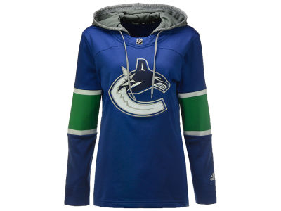 Vancouver Canucks adidas NHL Women's Jersey Crewdie Pullover Hoodie