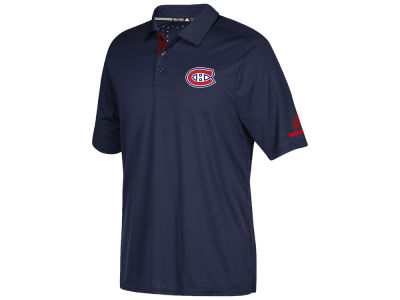 Montreal Canadiens adidas NHL Men's Authentic Pro Locker Room Polo